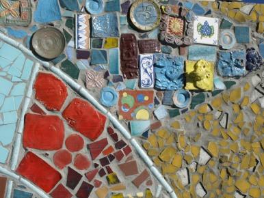 Watt Tower Mosaic Tile