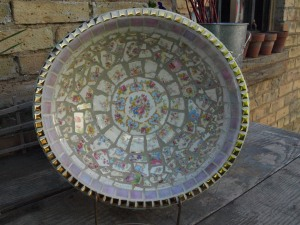Mosaic Tile Bowl II