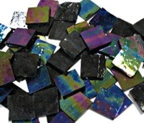 Black Iridescent Tile
