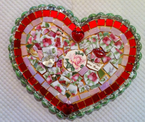 Mosaic Tile Heart