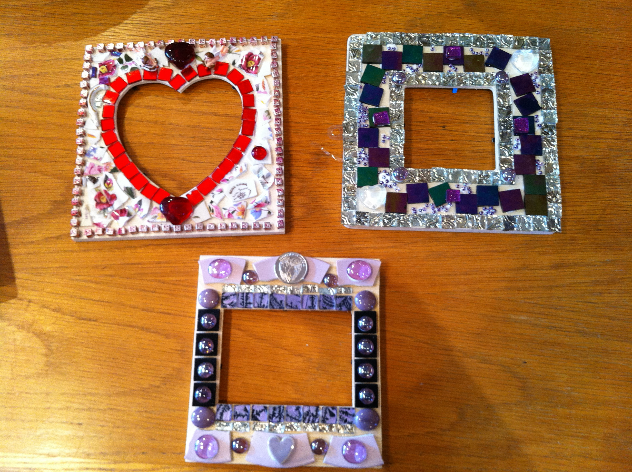 Mosaic tile projects home