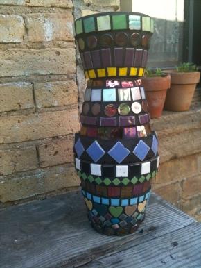 Mosaic Tile Garden Art