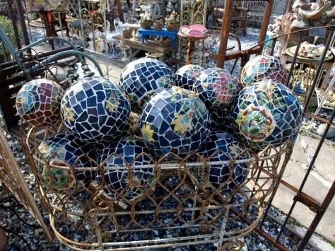 mosaic tile balls