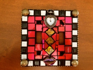 Mosaic Tile Lightswitch Cover