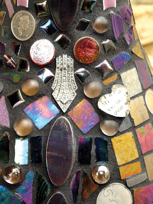 Mosaic Tile Vase