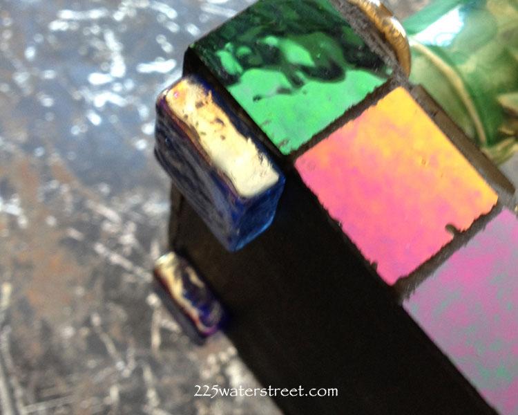 Mosaic Tile Incense Holder