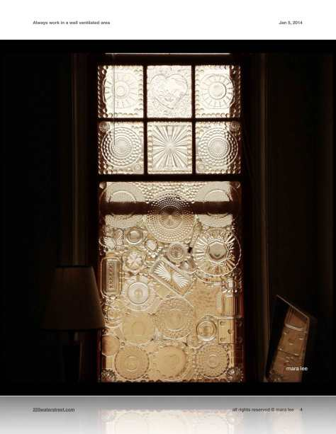 glass-on-glass window © mara lee