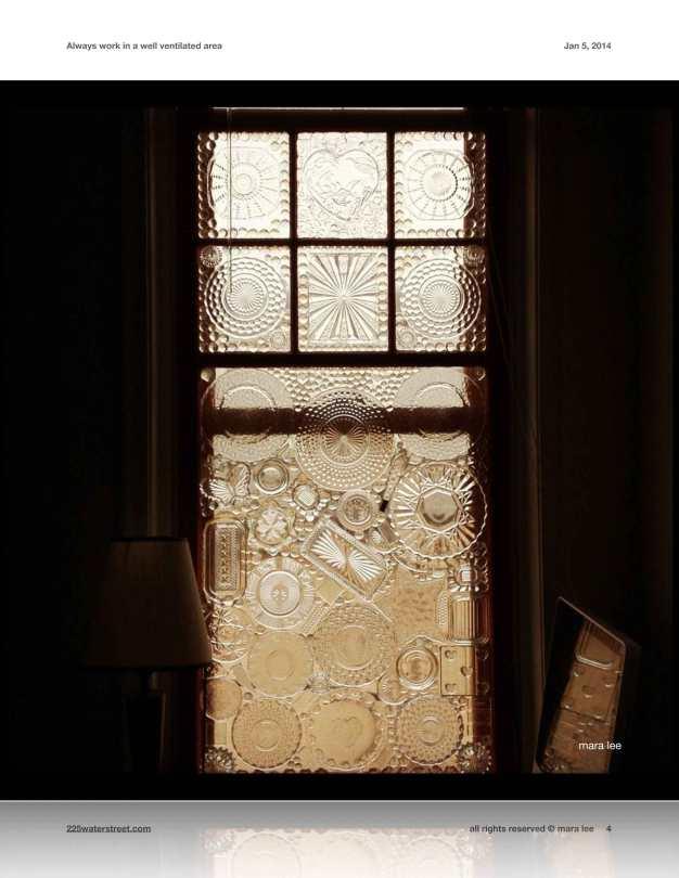 glass-on-glass window © mara lee