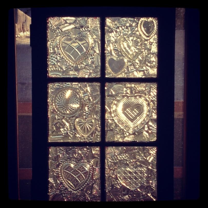 glass on glass window