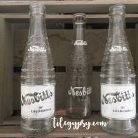 Vintage Soda Bottles or as Dad said, Vintage Pop Bottles