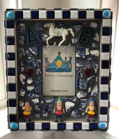 Mosaic Tile Mirror Prince Charming