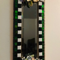 Mosaic Tile Mirror - tilegypsy.com
