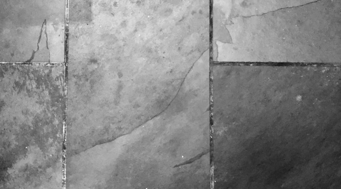 How to clean slate tile.