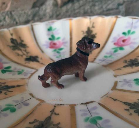 Dachshund Ring Dish SOLD